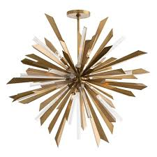arteriors home waldorf chandelier brass u2013 clayton gray home