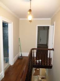 Home Interior Paint Colors Photos Upstairs Hall Newly Painted Benjamin Moore Carrington Beige