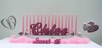 sweet 16 candelabra how to make a sweet 16 candles display awesome events