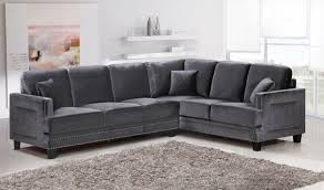 Grey Leather Tufted Sofa by Furniture Leather Tufted Sofa Brown Sectional Couch Velvet