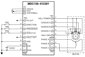mdc150 012301 brushless dc speed controllers