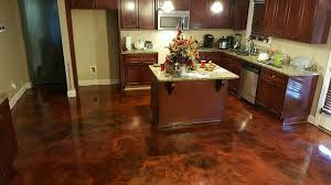 Concrete Kitchen Floor by Create Stained Concrete Floors In Your Home In 5 Easy Steps Part 1