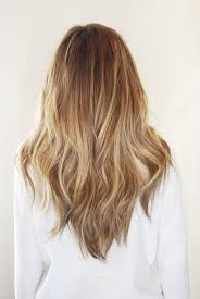long shag hairstyle pictures with v back cut golden blonde brown balayage blonde hair pinterest brown