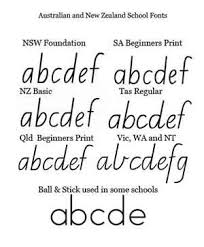 fonts to help kids to write qld cursive the organised housewife