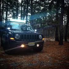 jeep light blue light bar placement and installation jeep patriot forums