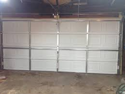 Replacing A Garage Door Replacing A Worn Out Garage Door Frugal Living