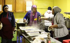 soup kitchen at the muslim center of detroit