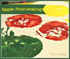 apple print making