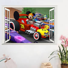 chambre mickey mouse mickey mouse minnie mouse wall sticker for children
