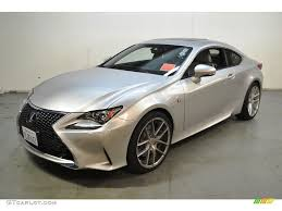 lexus rc 350 nebula gray pearl 2015 silver lining metallic lexus rc 350 f sport 106113583 photo