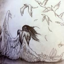 angels drawings pencil drawing art collection