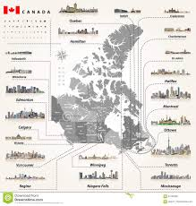 Map Of States With Capitals by Map Of Provinces And Territories Of Canada With Largest Cities And