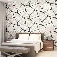 muster tapete schlafzimmer shop beibehang vogelnest geometrische muster tapete für