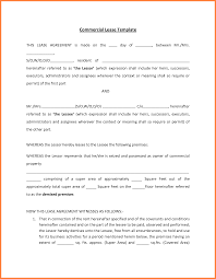 Commercial Lease Termination Agreement 9 Commercial Rental Lease Agreement Template Purchase Agreement