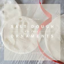 no fail salt dough ornaments sept farm