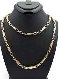 mens necklace chains length images 14 585 ct yellow gold men 39 s chain length 60 cm width 4mm no jpg