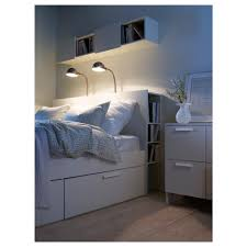 chambre brimnes brimnes headboard with storage compartment white storage