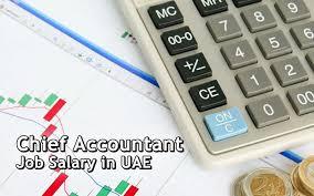 chief accountant and uae chief accountant job salary