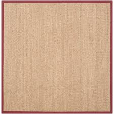 Hallway Runners Walmart by Safavieh Natural Fiber Maisy Border Area Rug Or Runner Walmart Com