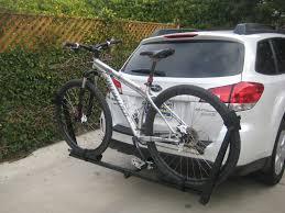 nissan pathfinder hitch size hitch style bike racks page 2 subaru outback subaru outback