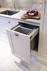 kitchen bin ideas contemporary shaker kitchen food prep kitchens and board