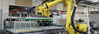 robot automated assembly line