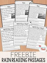free grade reading passages free grade reading comprehension passages set 1