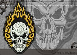biker patches embroidery designs pack 6 collection of 16