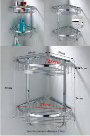 NEW Bathroom Vanity Wall Mounted Shower Basket Stainless Steel - New bathroom vanity 2