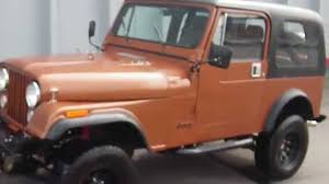orange jeep cj 1984 jeep wrangler cj 7 4x4 restored to original youtube