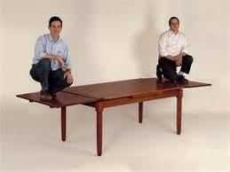 Furniture Glossary - Pull out dining room table