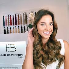 reign cw show hair weave beads the bachelor s olena shows off her new hair extensions daily