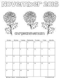november holidays coloring pages printable flower free