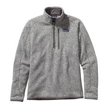 patagonia mens better sweater patagonia s better sweater quarter zip fleece