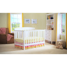 Child Craft Crib N Bed by Delta Children Gateway 4 In 1 Convertible Crib Black Walmart Com