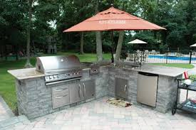 outdoor kitchen islands stunning outdoor kitchen island kits ideas also lighting covers