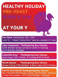 thanksgiving day burn the bird work outs