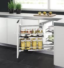 armoire en coin cuisine salle a manger gris et prune