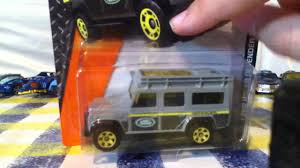 matchbox land rover defender 110 matchbox land rover defender 110 diecast review youtube