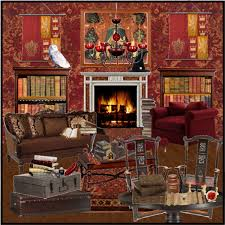 gryffindor bedroom bedroom layout ideas 9 the gryffindor common room 781 polyvore