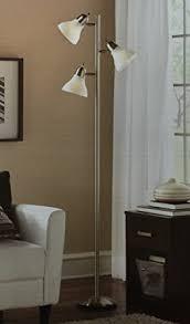 mainstays 54 track tree floor lamp brushed steel amazon com