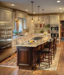 Kitchen Design Oak Cabinets by Ivory Cabinets With A Chocolate Glaze Coordinate Well With The