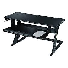office depot standing desk 3m precision standing desk black by office depot officemax