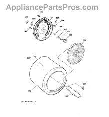 ge we25m40 rear drum bearing kit appliancepartspros com
