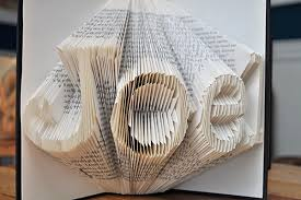 Book Paper Folding - book folding see saw