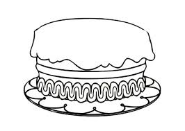 Birthday Cake Coloring Pages Best Place To Color Birthday Cake Coloring Pages