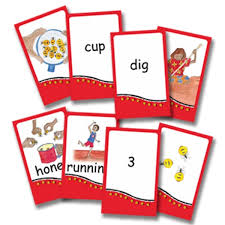 words cards honey ant reader 1 5 supplement picture number and word cards