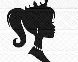 barbie silhouette etsy