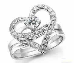 love shaped rings images Tanishq diamond finger rings in silver white gold and platinum jpg