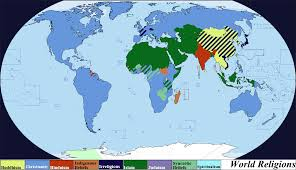 Religion World Map by World Religions By Iori Komei On Deviantart